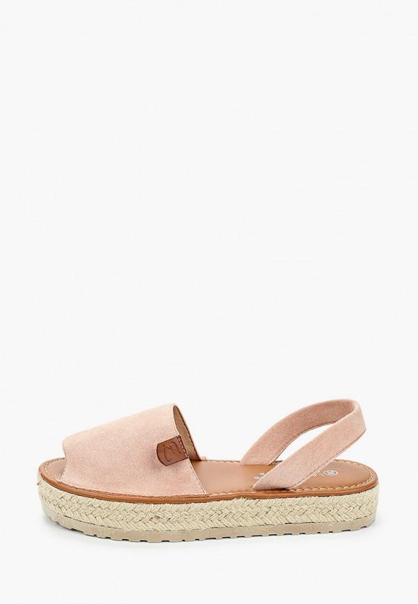 женские сандалии la bottine souriante, розовые