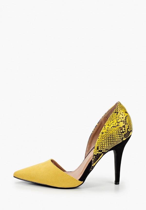 женские туфли la bottine souriante, желтые