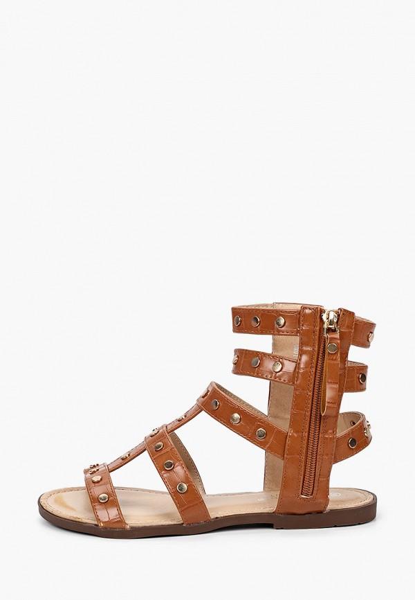 женские сандалии la bottine souriante, коричневые