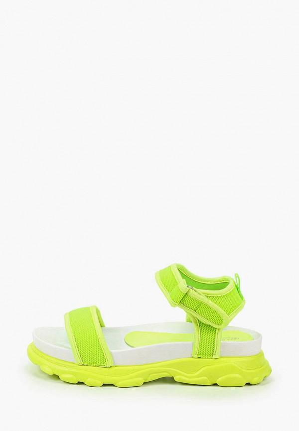 женские сандалии la bottine souriante, зеленые