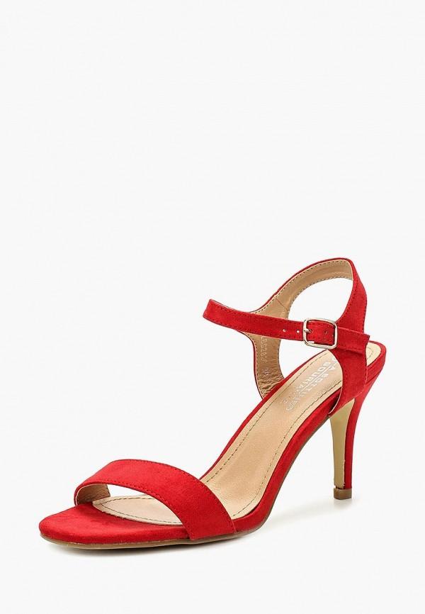 Фото - женские босоножки La Bottine Souriante красного цвета