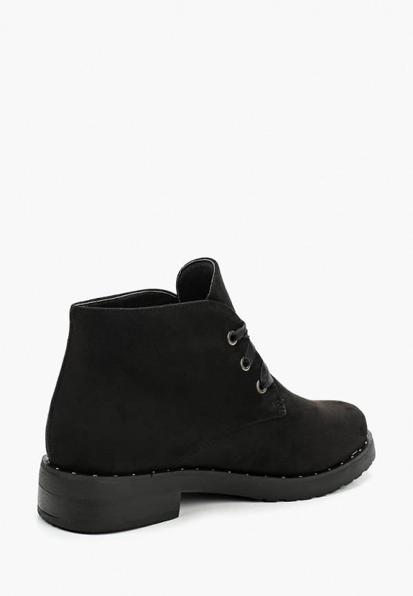 Фото 7 - женские ботинки и полуботинки La Bottine Souriante черного цвета