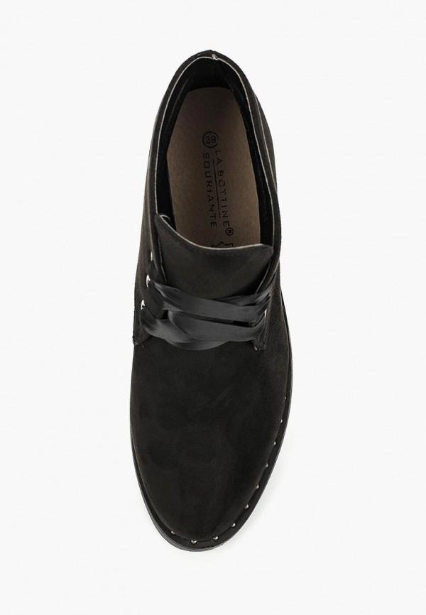 Фото 9 - женские ботинки и полуботинки La Bottine Souriante черного цвета