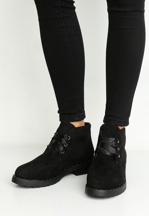 Фото 10 - женские ботинки и полуботинки La Bottine Souriante черного цвета