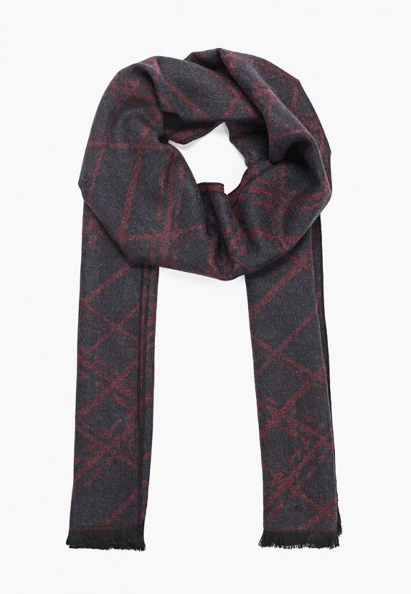 женский шарф laura milano, черный