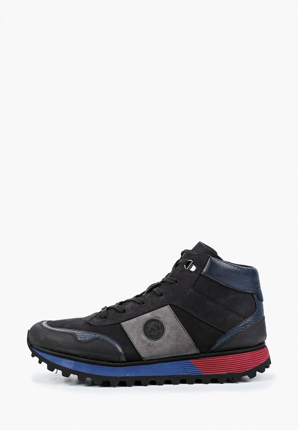 мужские ботинки lab-milano, синие