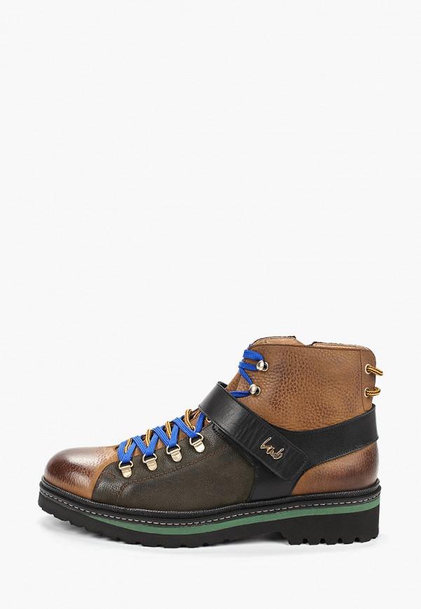 мужские ботинки lab-milano, коричневые