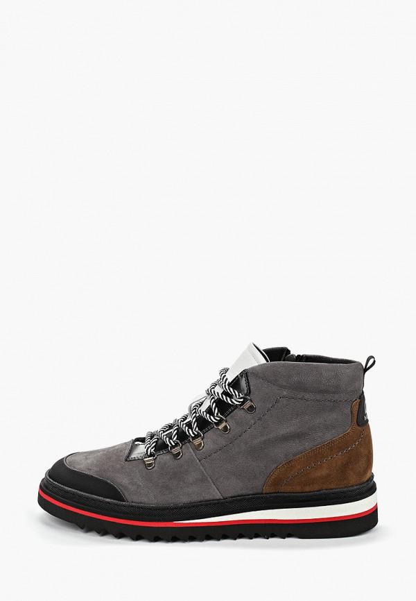 мужские ботинки lab-milano, серые
