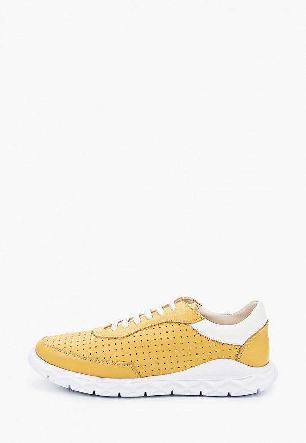 мужские кроссовки lab-milano, желтые