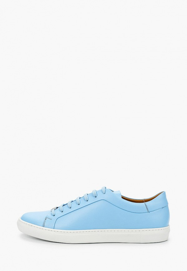 мужские кеды lab-milano, голубые