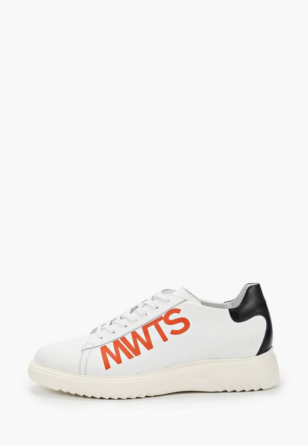 мужские кроссовки lab-milano, белые