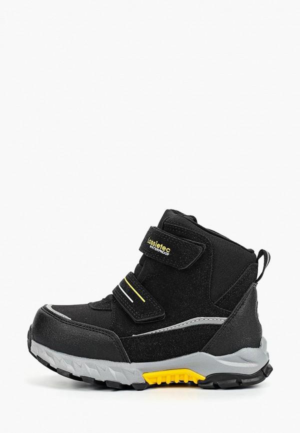 ботинки lassie by reima для мальчика, черные