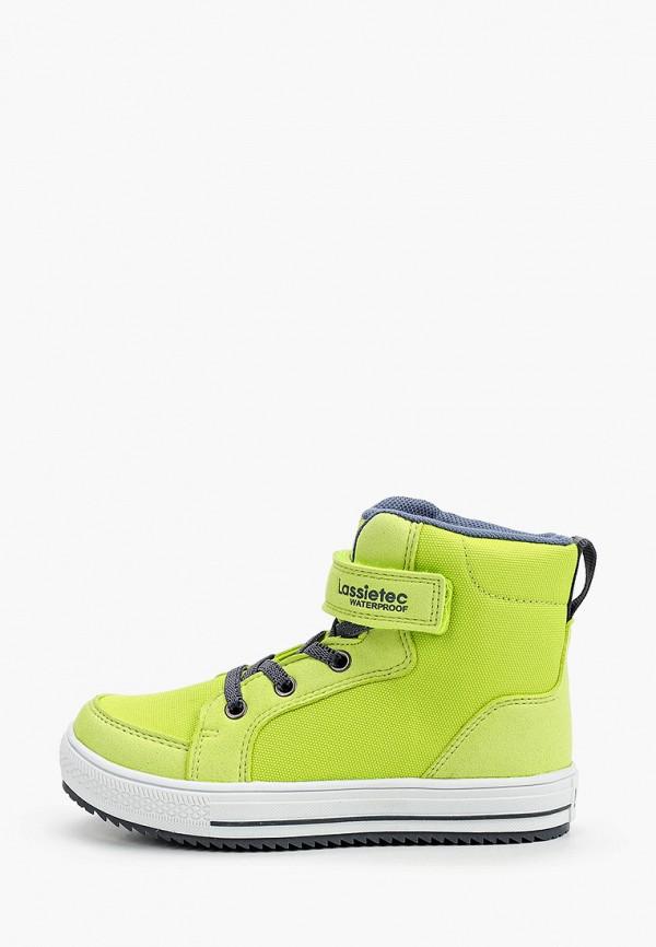 ботинки lassie by reima для мальчика, желтые