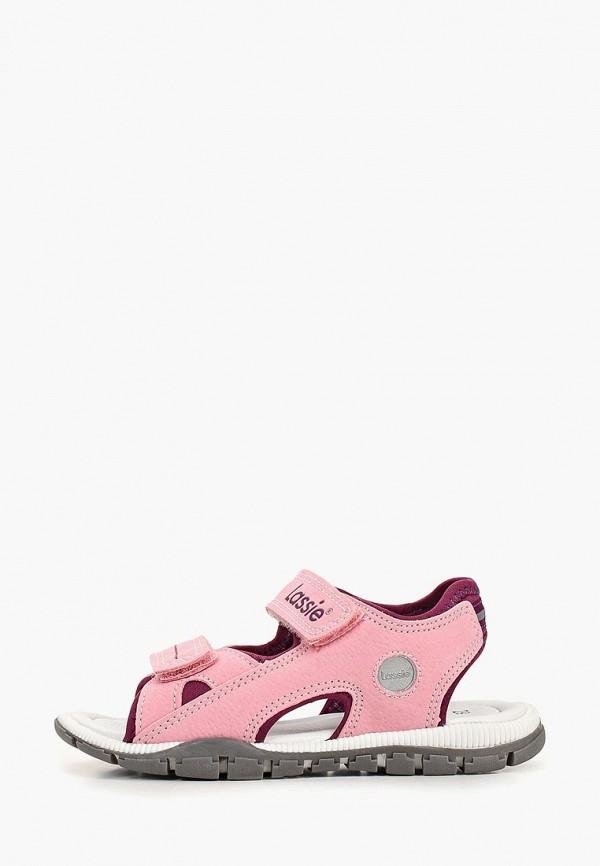 сандалии lassie by reima для девочки, розовые