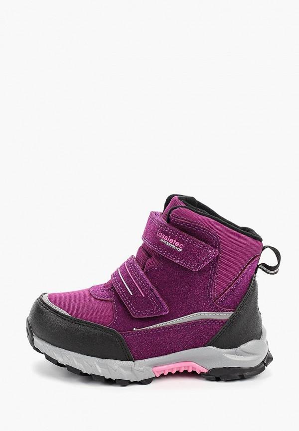 ботинки lassie by reima для девочки, фиолетовые