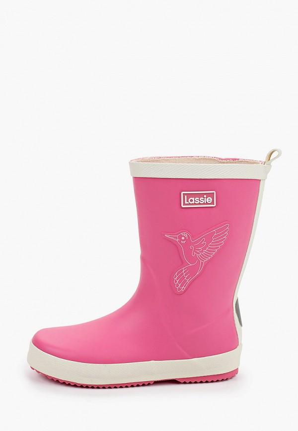 резиновые сапоги lassie by reima для девочки, розовые