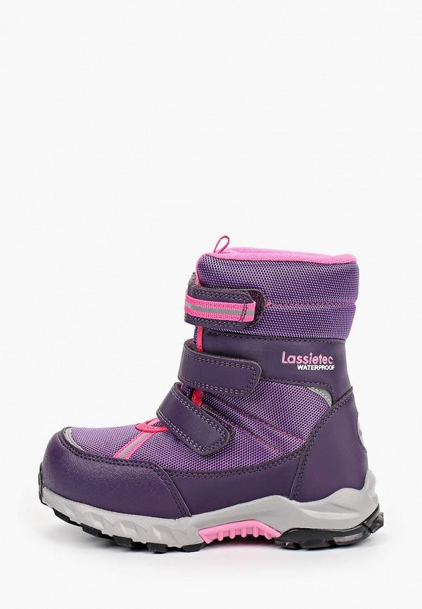 дутики lassie by reima для девочки, фиолетовые