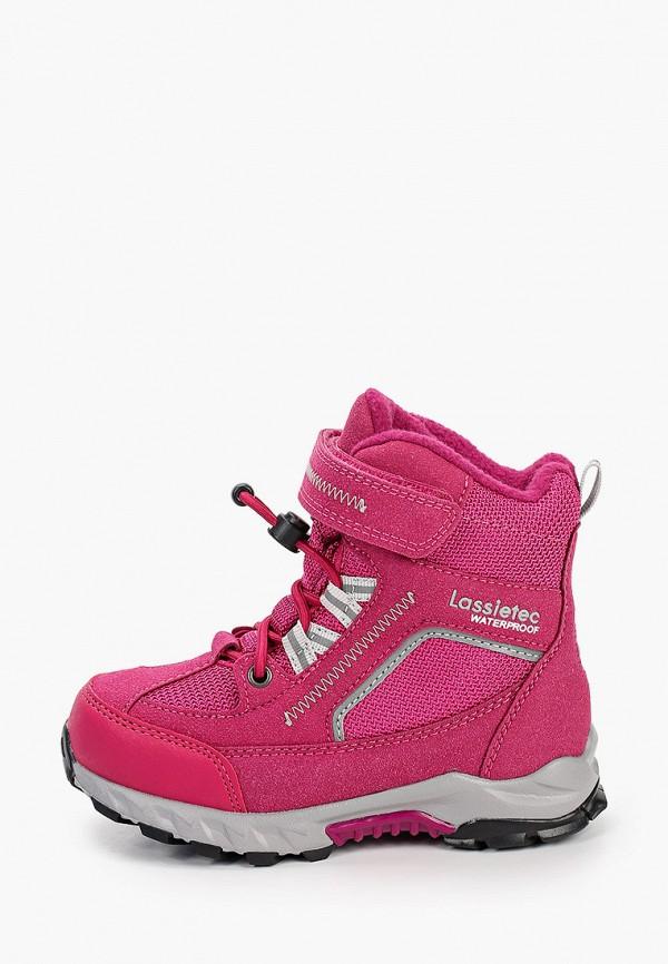 ботинки lassie by reima для девочки, розовые