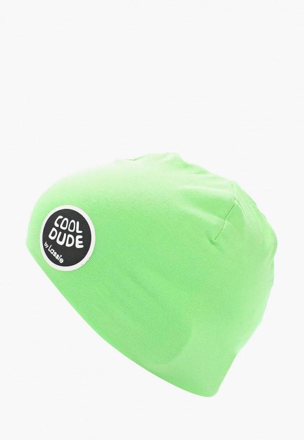 Купить Шапка Lassie, LA078CBADPX2, зеленый, Весна-лето 2018