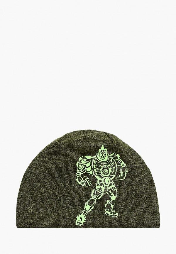 шапка lassie by reima для мальчика, зеленая