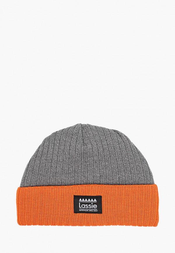 шапка lassie by reima для мальчика, серая