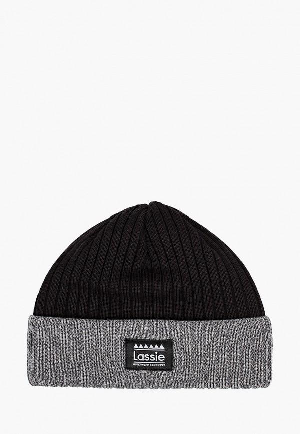 шапка lassie by reima для мальчика, черная