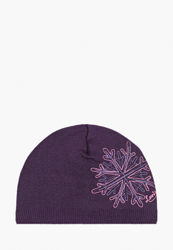 шапка lassie by reima для девочки, фиолетовая
