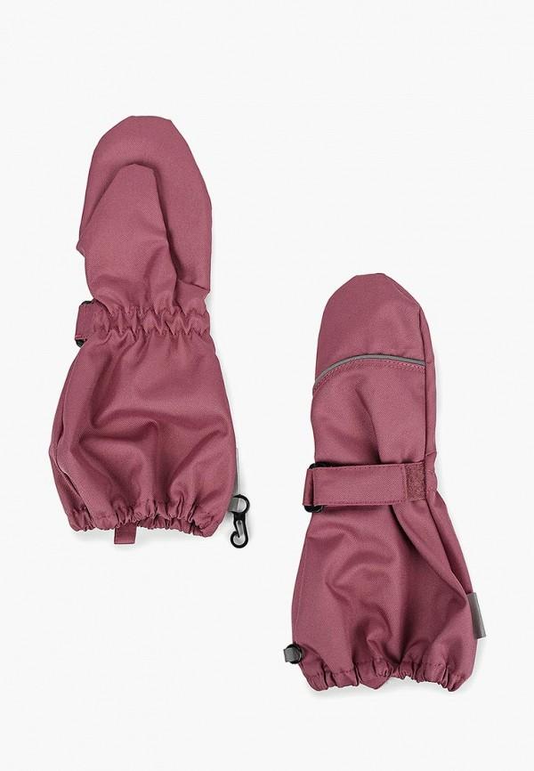 варежки lassie by reima для девочки, розовые