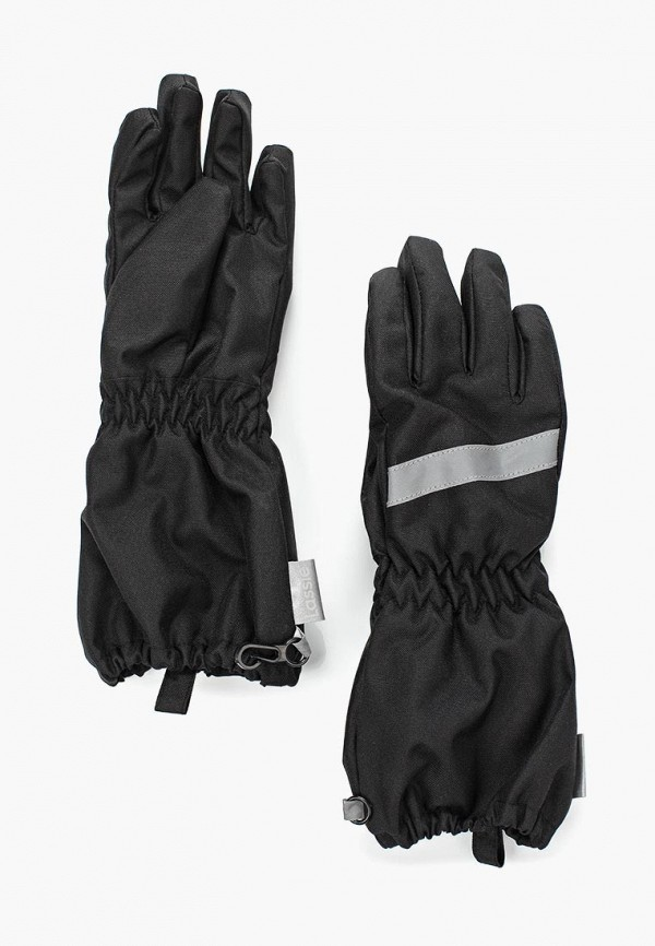 перчатки lassie by reima малыши, черные