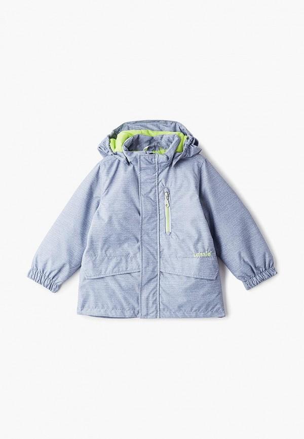 куртка lassie by reima для мальчика, серая