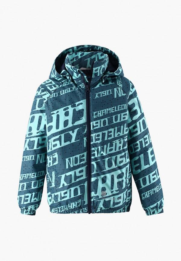 утепленные куртка lassie by reima для мальчика, бирюзовая