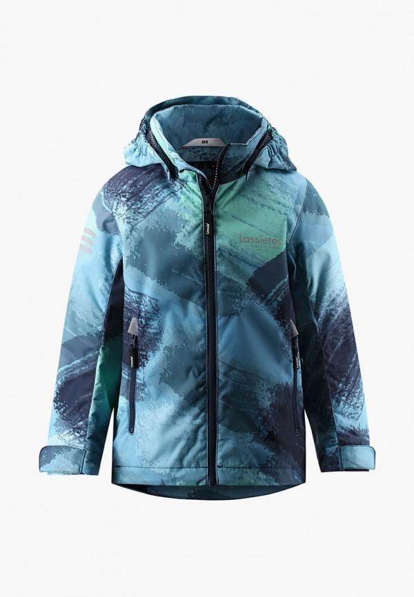 утепленные куртка lassie by reima для мальчика, синяя