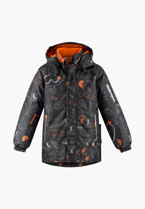 куртка lassie by reima для мальчика, черная