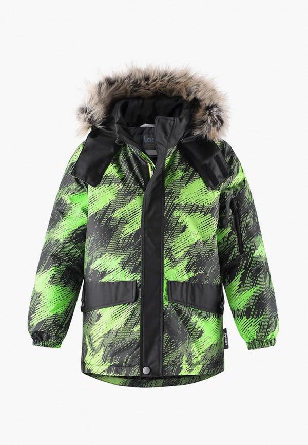 куртка lassie by reima для мальчика, зеленая