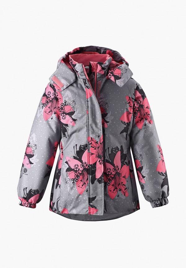 куртка lassie by reima для девочки, серая