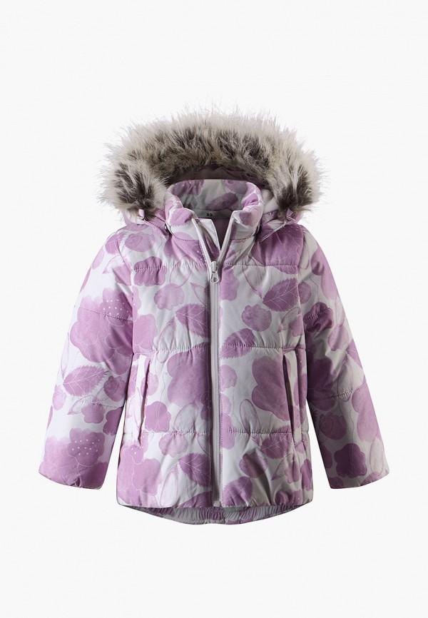 куртка lassie by reima для девочки, фиолетовая