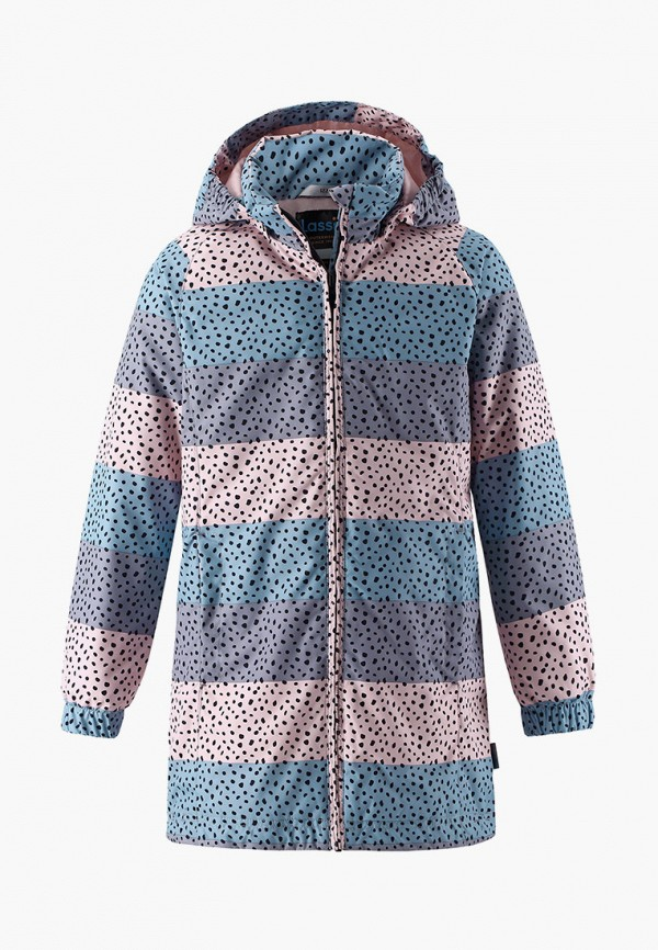 утепленные куртка lassie by reima для девочки, разноцветная
