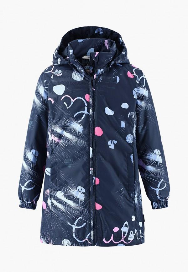 утепленные куртка lassie by reima для девочки, синяя