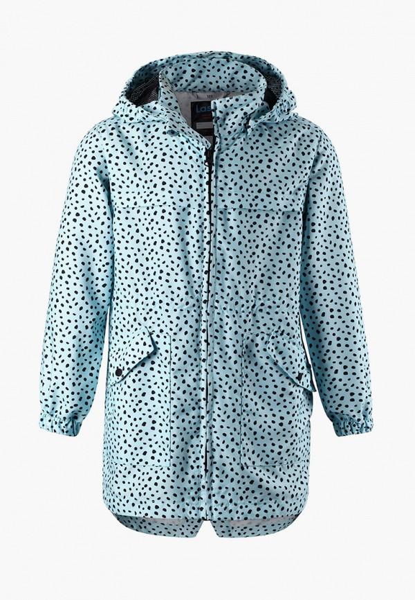 легкие куртка lassie by reima для девочки, голубая