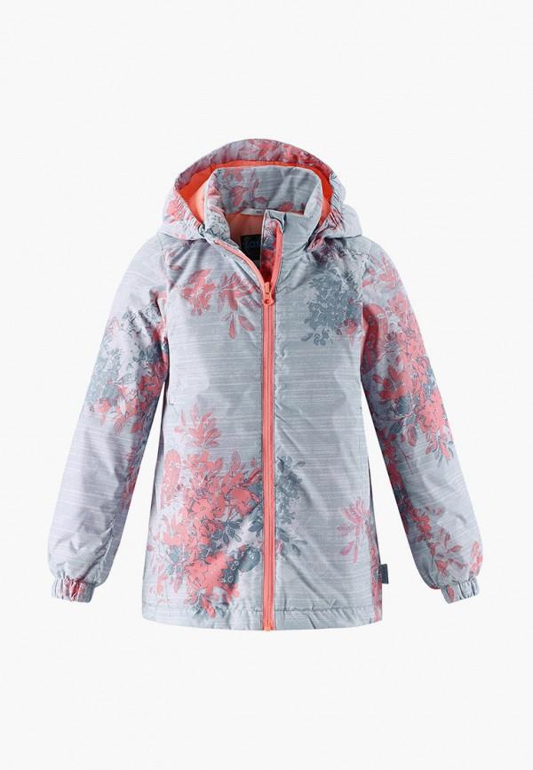 утепленные куртка lassie by reima для девочки, серая