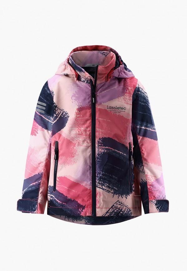 легкие куртка lassie by reima для девочки, разноцветная
