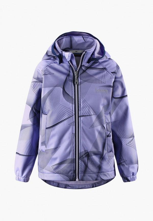 легкие куртка lassie by reima для девочки, фиолетовая