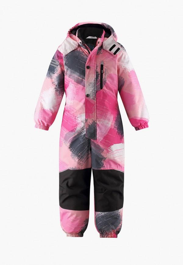 комбинезоны и костюмы lassie by reima для девочки, розовые