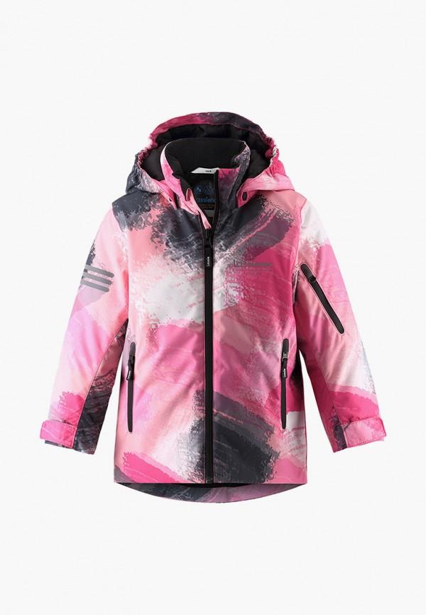 куртка lassie by reima для девочки, розовая