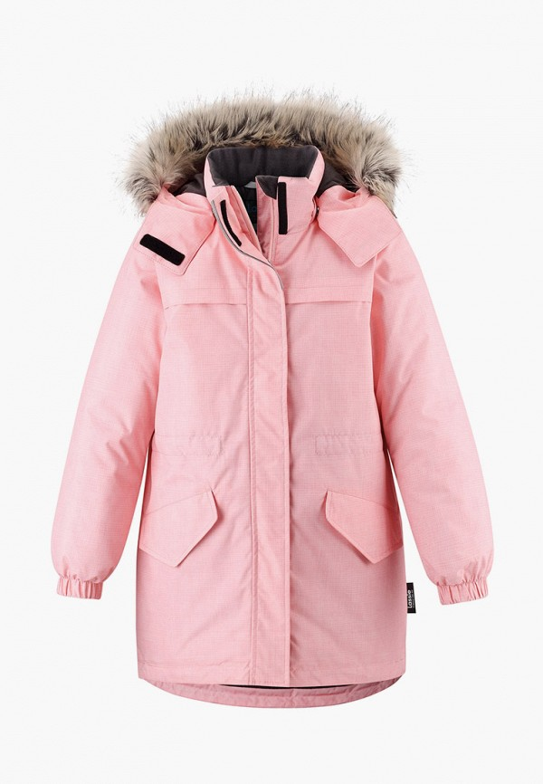 парка lassie by reima для девочки, розовая