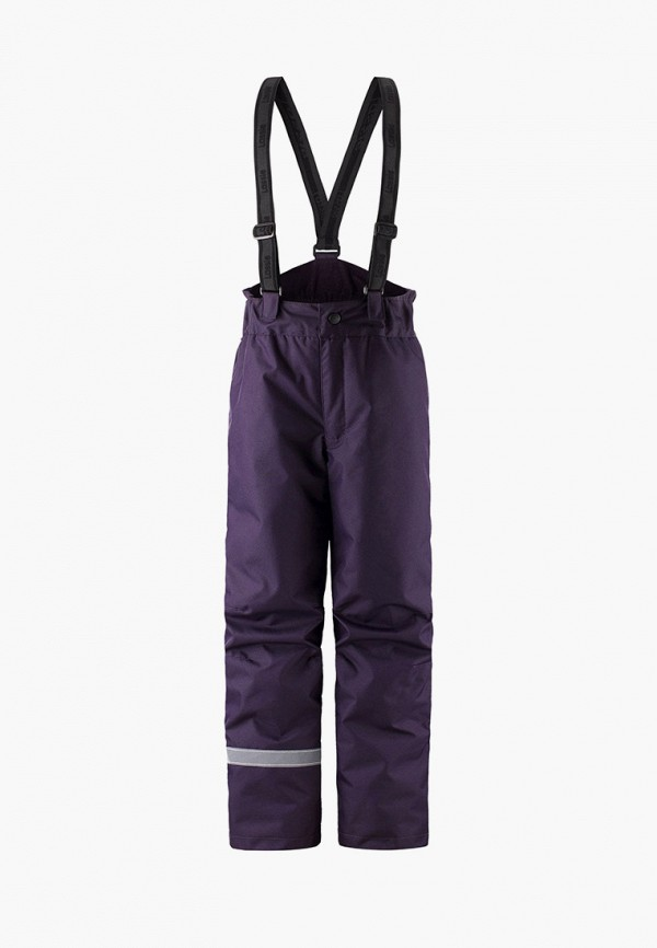 брюки lassie by reima для девочки, фиолетовые