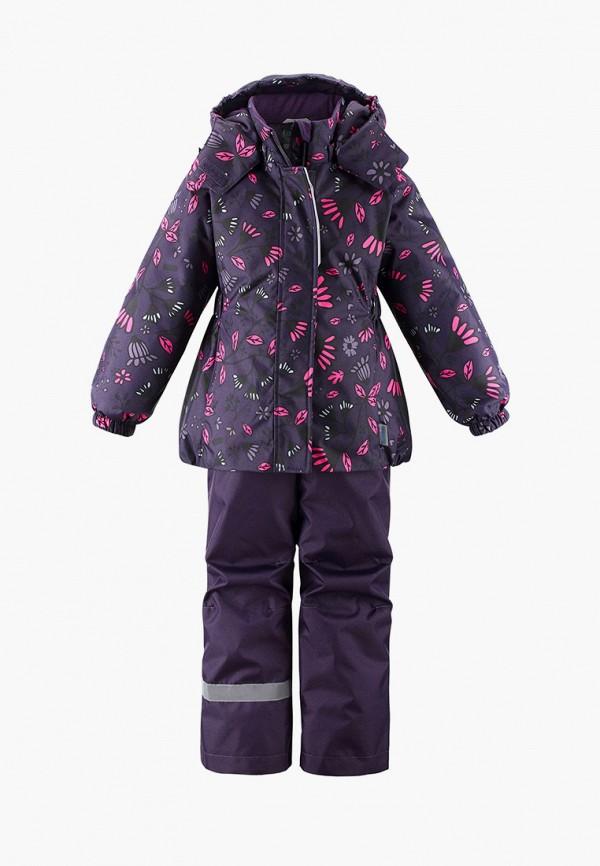 комбинезоны и костюмы lassie by reima для девочки, фиолетовые