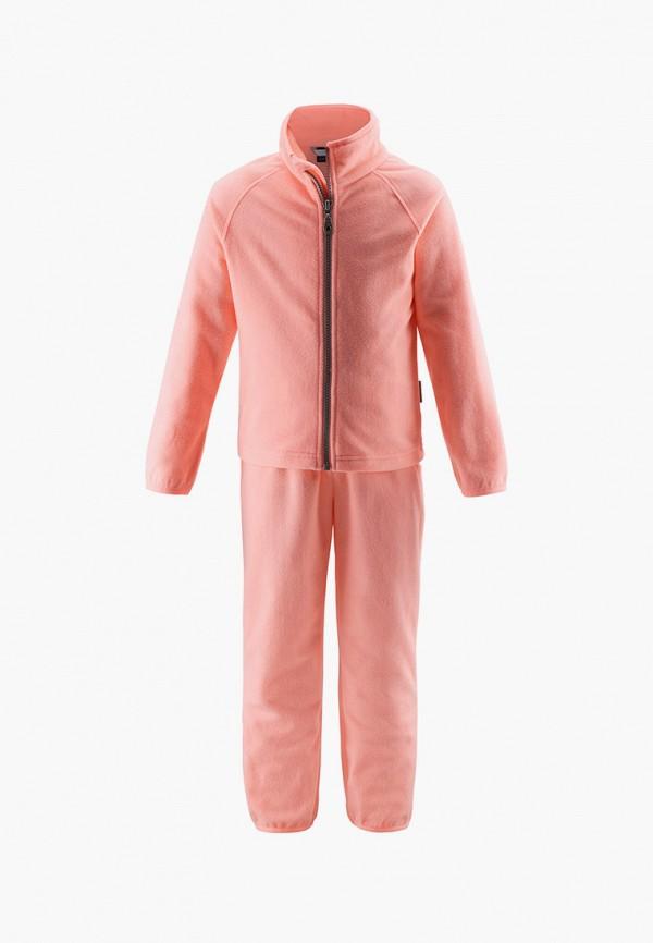 спортивный костюм lassie by reima для девочки, розовый