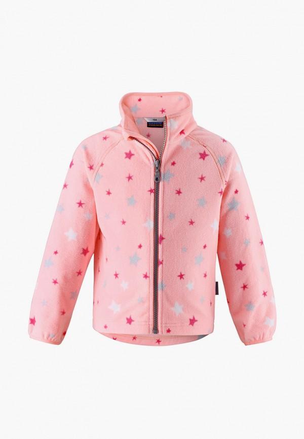 олимпийка lassie by reima для девочки, розовая
