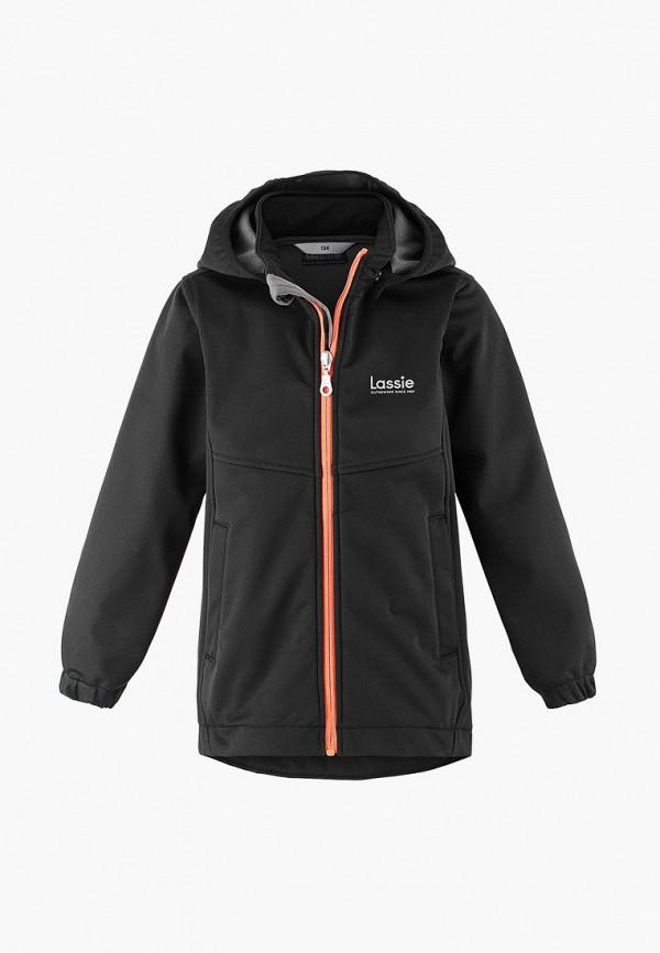 куртка lassie by reima малыши, черная